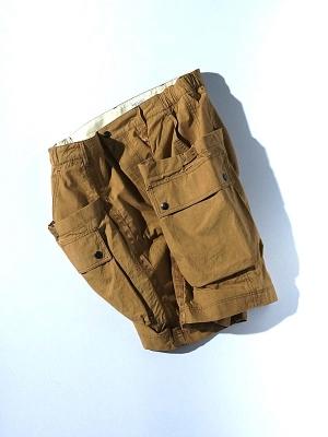 Eastlogue Wagon Shorts - Ocher