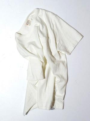 Oriental United Loopwheel T shirt - Off White