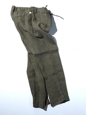 Man1924 Pants 1903 - Khaki Houndstooth